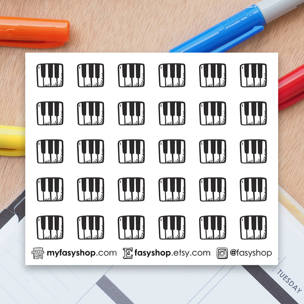 30 Piano Lessons | Keyboard Doodles - FasyShop