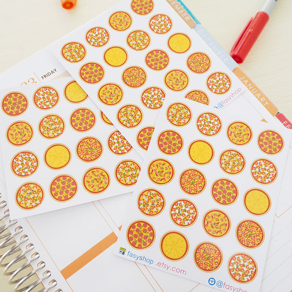 Clearance - 20 Pizzas Circles - FasyShop