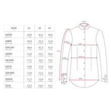 MEASUREMENTS SHIRTS