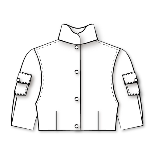 SHORT JACKET (SUIT, PIECE 1)