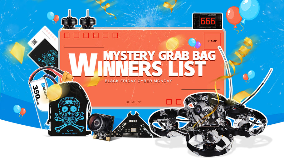 REWARD: BFCM Mystery Grab Bag Winner List