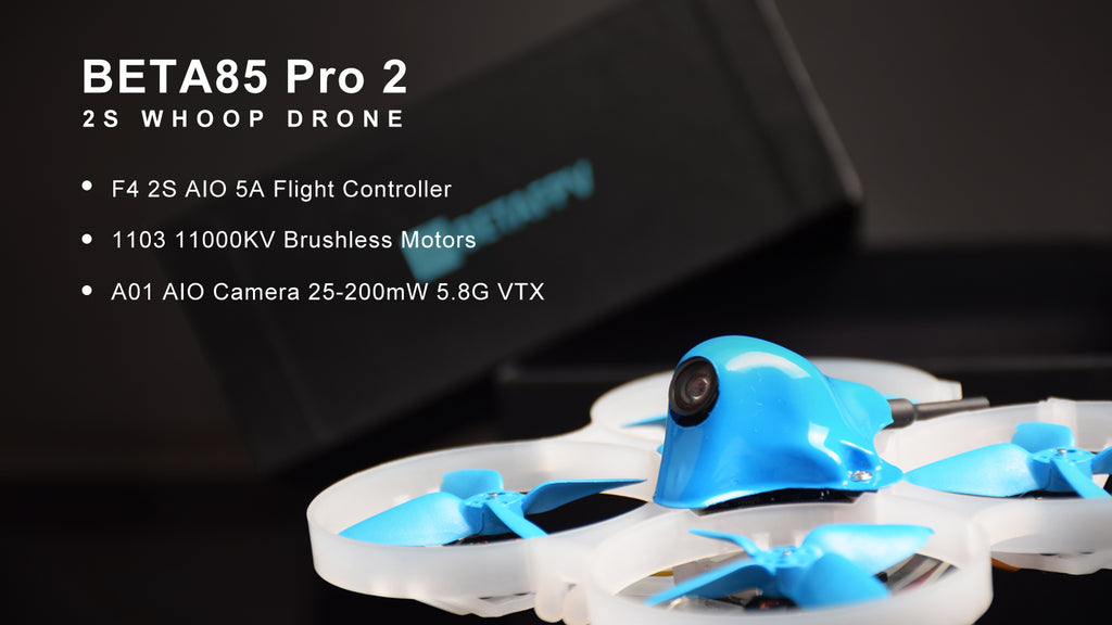 Beta85 Pro 2 Brushless Whoop Quadcopter (2S)