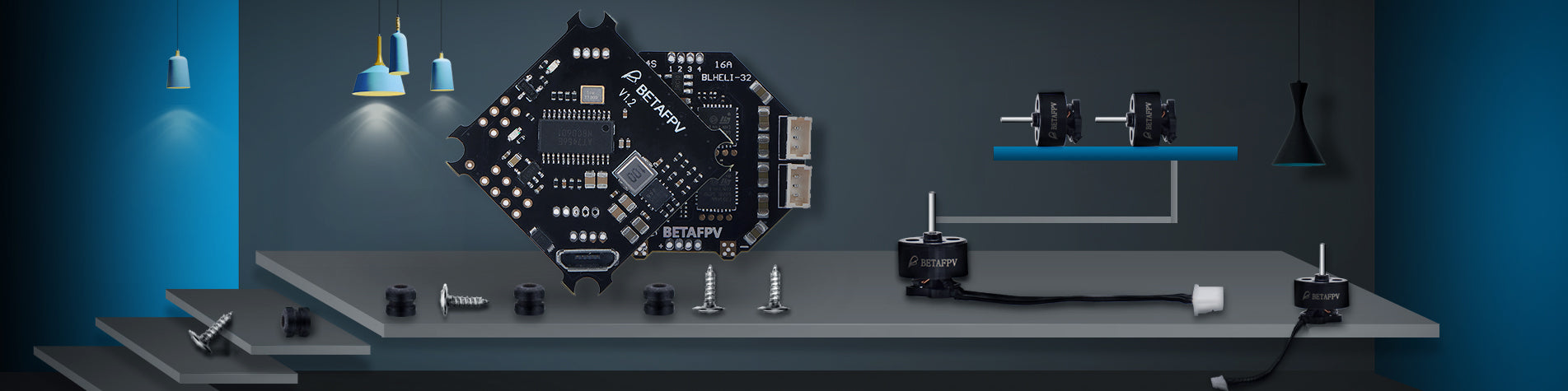 Overview of BETAFPV Flight Controllers