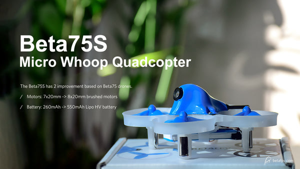 BetaFPV Beta75S BNF Micro Whoop Quadcopter - LocoProps