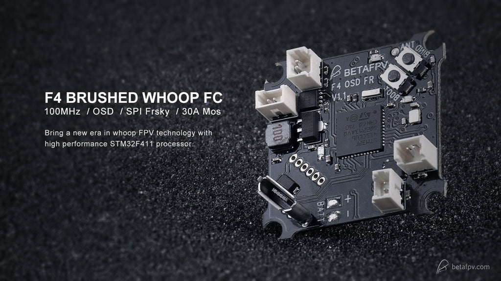 BetaFpv F4 Brushed Flight Controller with OSD (FrSky) - LocoProps