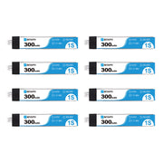 300mAh 1S 30C Battery Upgraded (8PCS)