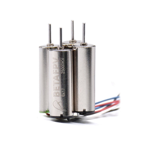 6x17mm 25000KV Brushed Motors (2CW+2CCW)