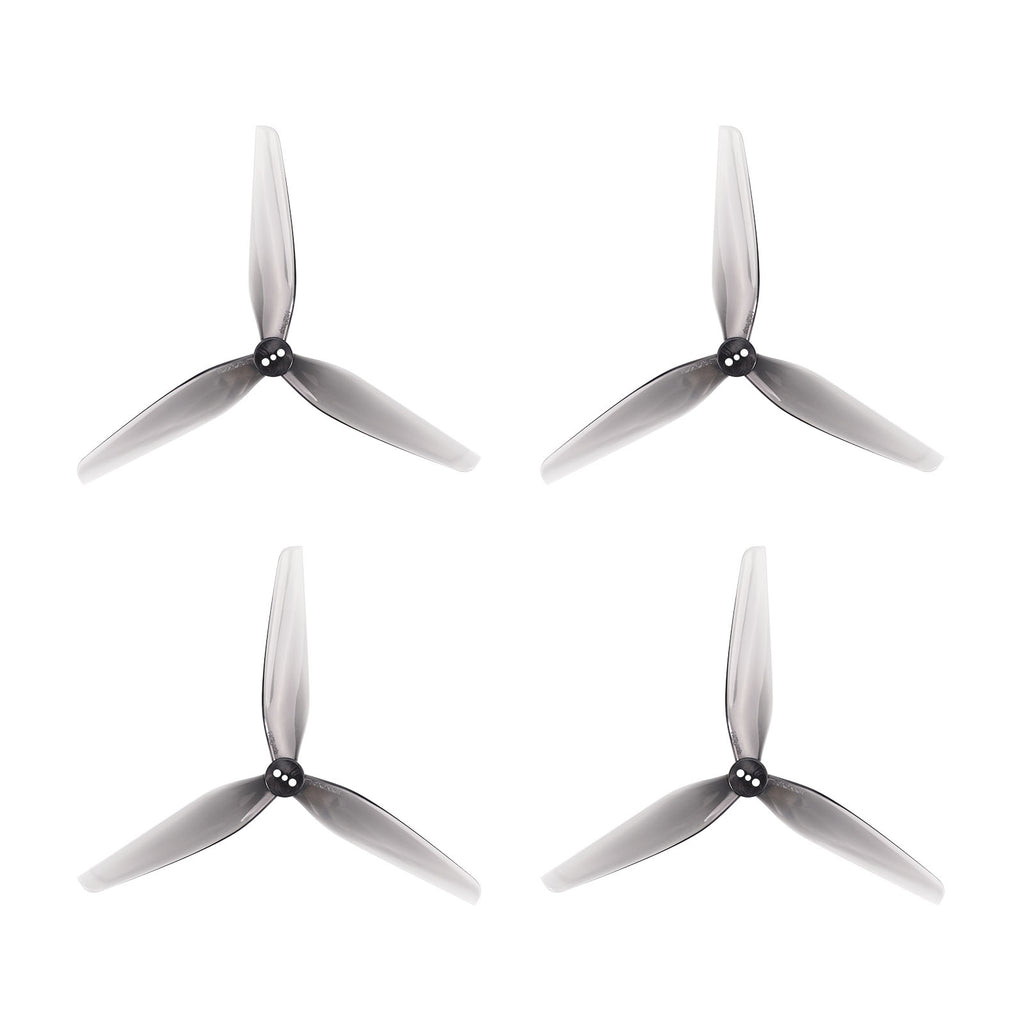 HQ 5025 3-Blade Propellers 1.5mm Shaft Gray