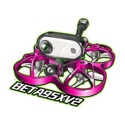 BETAFPV FPV Stickers 2020