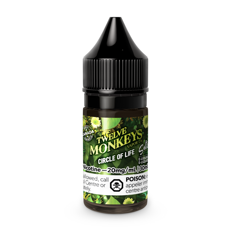 Twelve Monkeys Circle Of Life Salt Nic