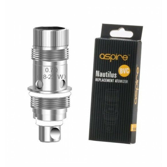 ASPIRE NAUTILUS/TRITON MINI BVC REPLACEMENT COILS 5PK