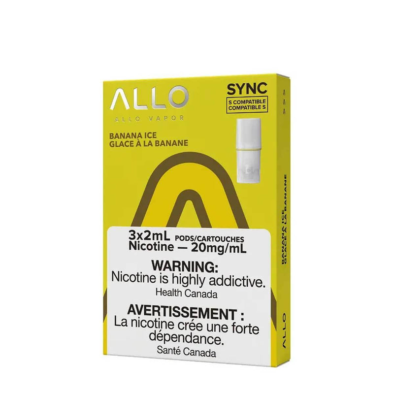 Allo Sync Pod Pack Banana Ice 3/PK (STLTH COMPATIBLE)