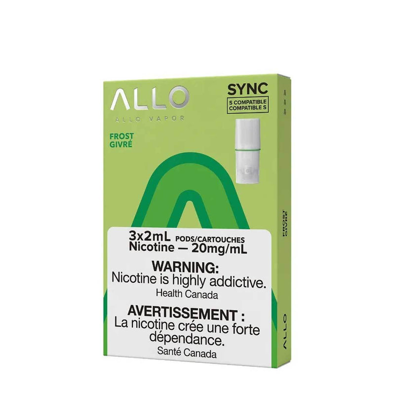 Allo Sync Pod Pack Frost 3/PK (STLTH COMPATIBLE)