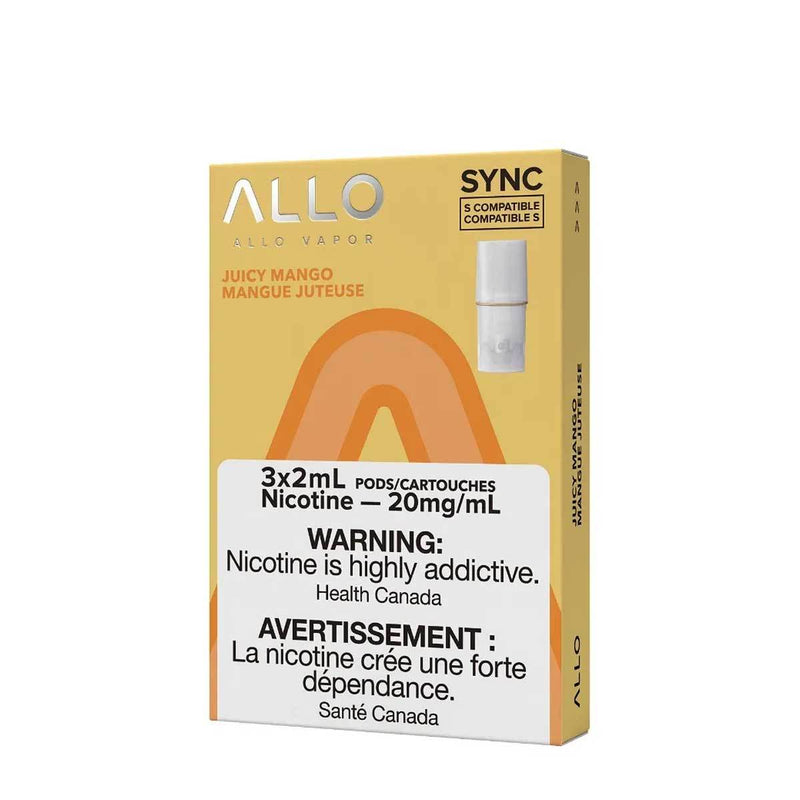 Allo Sync Pod Pack Juicy Mango 3/PK (STLTH COMPATIBLE)