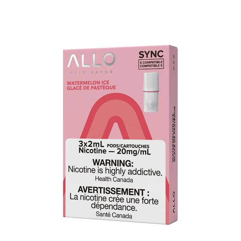 Allo Sync Pod Pack Watermelon Ice 3/PK (STLTH COMPATIBLE)