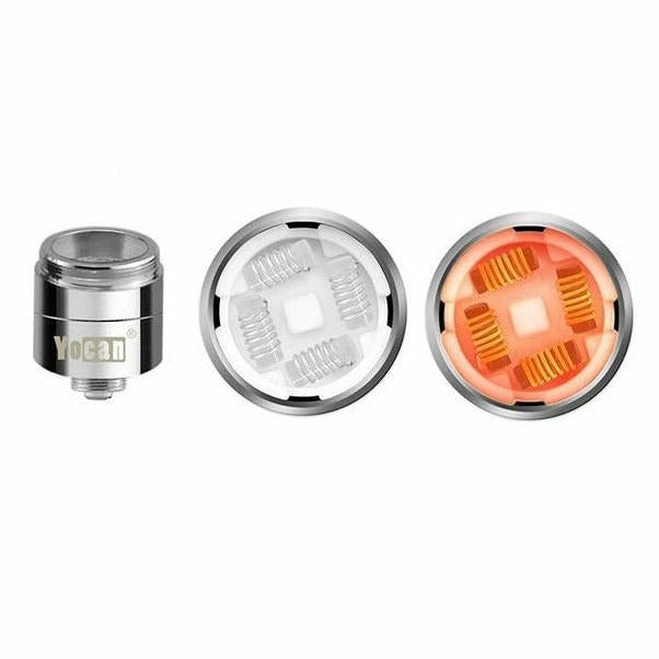 Yocan Evolve-Plus XL Wax Replacement Quad Coils 5PK