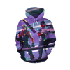 Fortnite Purple T-shirt Tank Shorts and Hoodie