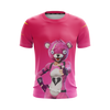 Fortnite  Teddy Bear Pink T-shirt Tank Shorts and Hoodie