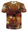 Attack on Titan Titan and Eren Transform T-shirt, T-shirts, ULANI, ULANI