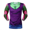DBZ Dragon Ball Z Piccolo Compression Shirt, Long Sleeve and Sweatshirts, ULANI, ULANI