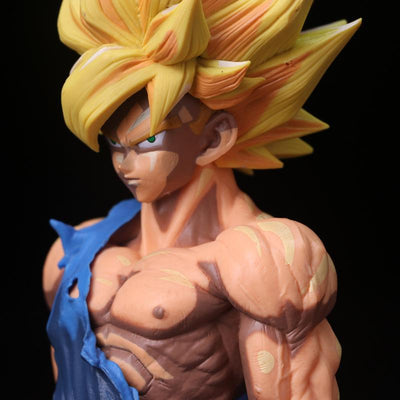 "Dragon Ball Z Super Saiyan Goku PVC Action Figure Collection Model Toy 14"" 35CM Size"
