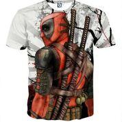 Deadpool Japan 3D Print T-shirt, Custom, ULANI, ULANI