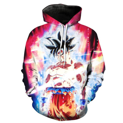 Dragon Ball Z Ultra Instinct Goku Debut Hoodie