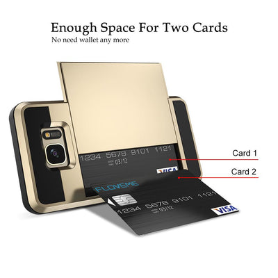 Armor Phone Case 2 in 1 Card Slot For Samsung Galaxy Note Galaxy Edge Plus, Phone, ULANI, ULANI
