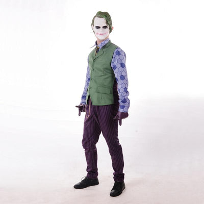 Batman The Dark Knight Rises Joker Cosplay Halloween Costume, cosplay, ULANI, ULANI
