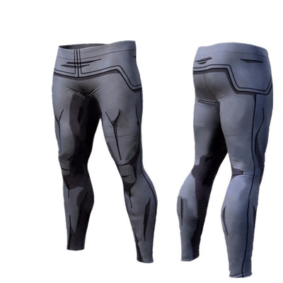 Dragon Ball Z and Naruto Compression Pants Quick-Drying leggings, , ULANI, ULANI