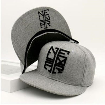 Born and Bred NJR Gray Snapback Hat, Hats, ULANI, ULANI