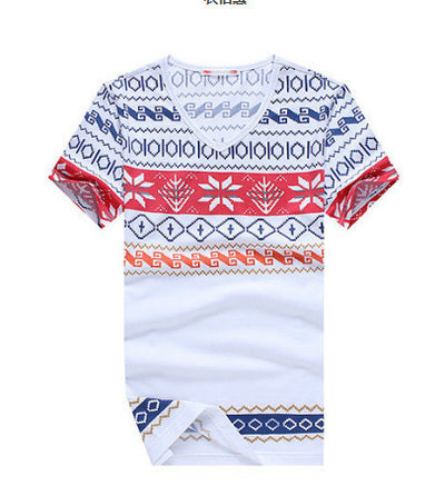 ULANI T-shirts White / XS Snow Flake Men White T-shirt