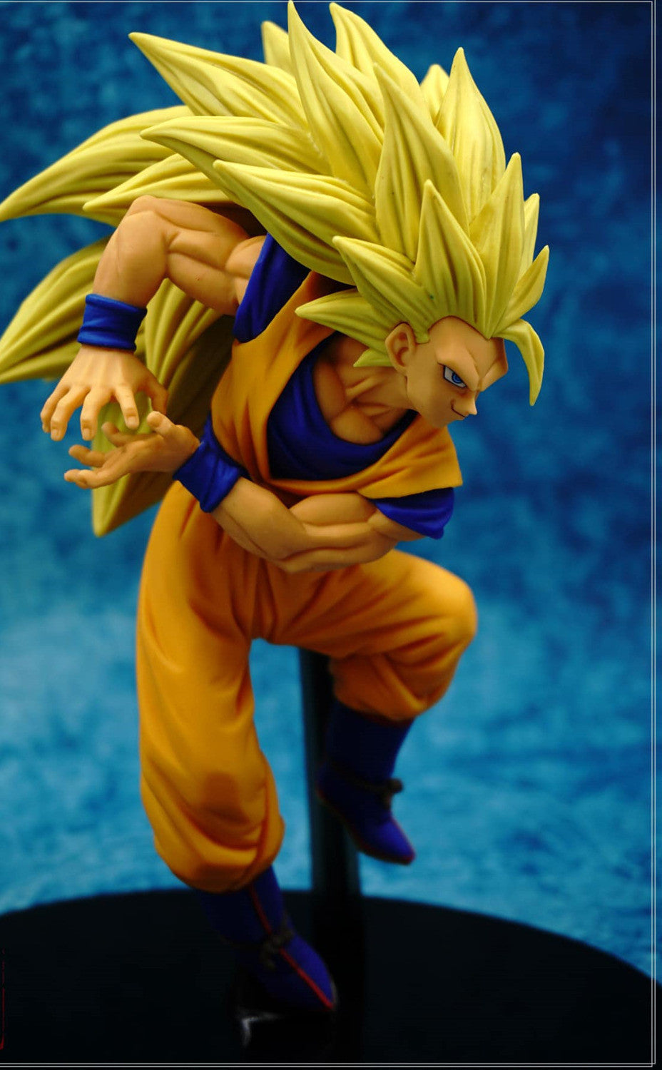 dragon ball z goku ssj3 super saiyan action figure pvc collection