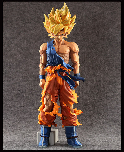 "ULANI Toy Dragon Ball Z Super Saiyan Goku PVC Action Figure Collection Model Toy 14"" 35CM Size"