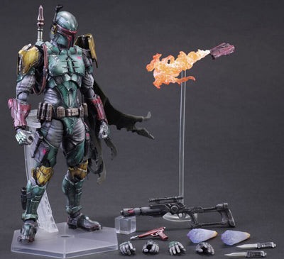 ULANI Toy Star Wars Action Figure Boba Fett Toys PVC 280mm