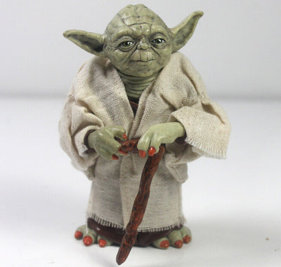 ULANI Toy Star Wars Jedi Knight Master Yoda Collection Toy 12cm