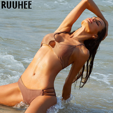 2016 Sexy Bandage Brazilian Push up Bikini Women Swimwear Swimsuit Biquini Beach Wear Bathing Suit Bikinis Set maillot de bain