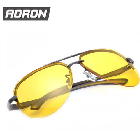 Polarized UV400 Driving Night Vision Goggles Sunglasses Man Famous Brand Yellow Night View Glasses For Women Driver Sun Glasses