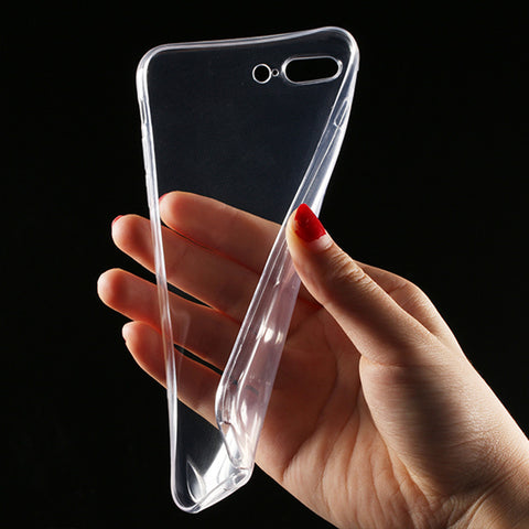 Transparent Clear Case for iPhone 7 6 6S Case for iPhone 7 Plus 6 6s Plus Soft Silica Gel TPU Silicone Ultra Thin Phone Cover