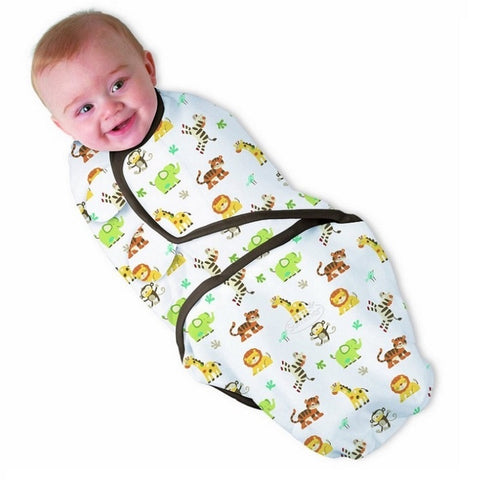 100% Cotton Baby Swaddle Wrap Blanket Newborn Infants Baby Envelop Sleep Bag Sleepsack Mantas Para Bebe Cobertor Bebe KF040S