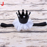 Newborn Crown Headband Gold princess crown Baby Girls Cute Hair Band Infant Kids Hair Accessories Children Photo Props 1pc HB044