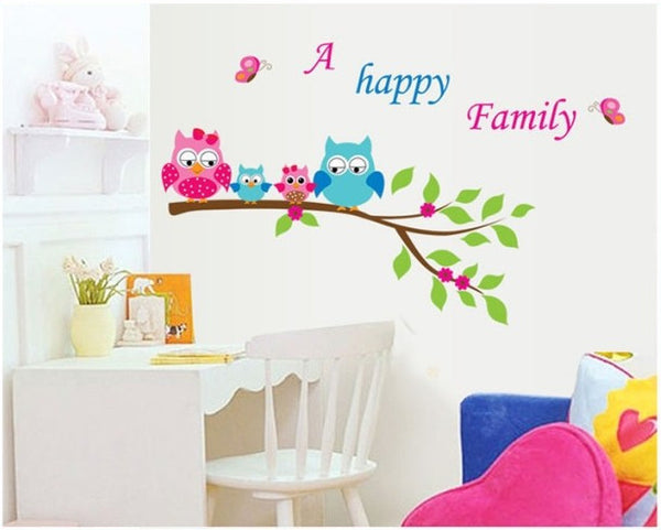 Cute Nursery Wall Sticker Animals Wall Sticker Home Decor Nursery Decal diy for Kids Room Decal Baby Vinyl Children Mural