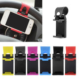 hot selling Car Steering Wheel Mount Holder Rubber Band For iPhone For iPod MP4 GPS Mobile Phone Holders car cover