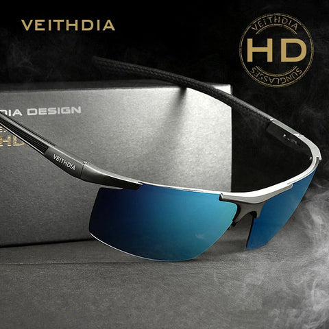 Luxury Brand Veithdia Mens Sunglasses Polarized UV400 Driving Car Sports Fishing Male Original Famous Sun Glasses