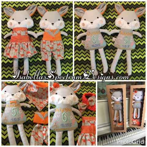Hand Crafted Dolls and Stuffies