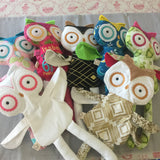 Handmade Owl Plush Doll