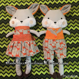 Handmade Fox Plush Doll