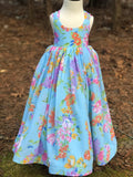 Whimsy Floral Chiffon dress
