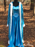 Ice Queen dress optional Cloak