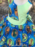 Handmade Toy Story Dress: Ready to Ship!